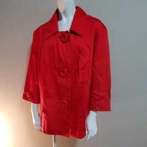 NWT CJ Banks Red Jacket